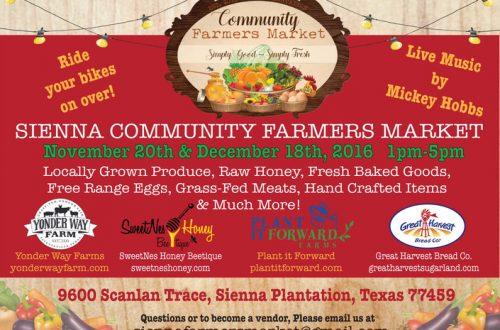 Sienna Farmers Market