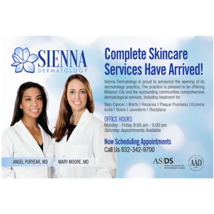 Sienna Dermatology Coming Soon to Missouri City, Texas | Sienna Scoop