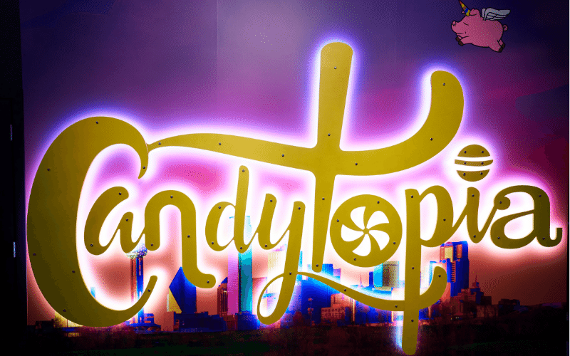 DALLAS, TX - APRIL 04: A detail shot of Candytopia Dallas at The Hill on April 4, 2019 in Dallas, Texas. (Photo by Cooper Neill/Getty Images for Candytopia)
